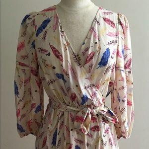 Women's Dress Silk From Paris Knee Length
